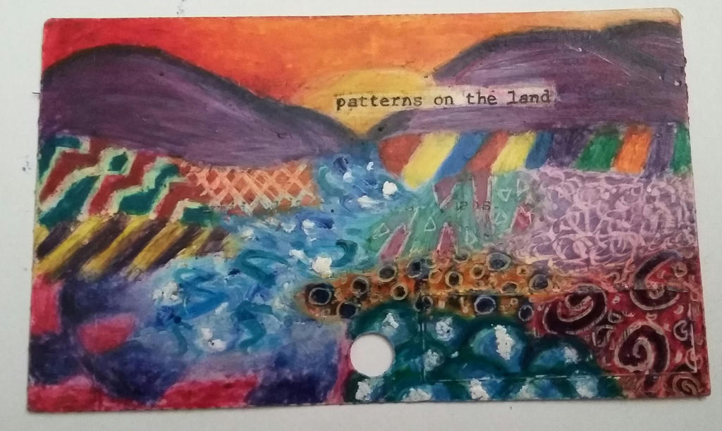 Patterns on the Land by MLPAristiscCSketch