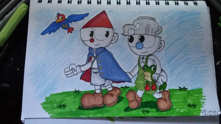 Over the Inkwell Isle  by MLPAristiscCSketch