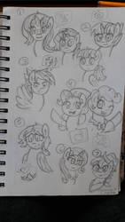 Mlp next gen sketches  by MLPAristiscCSketch