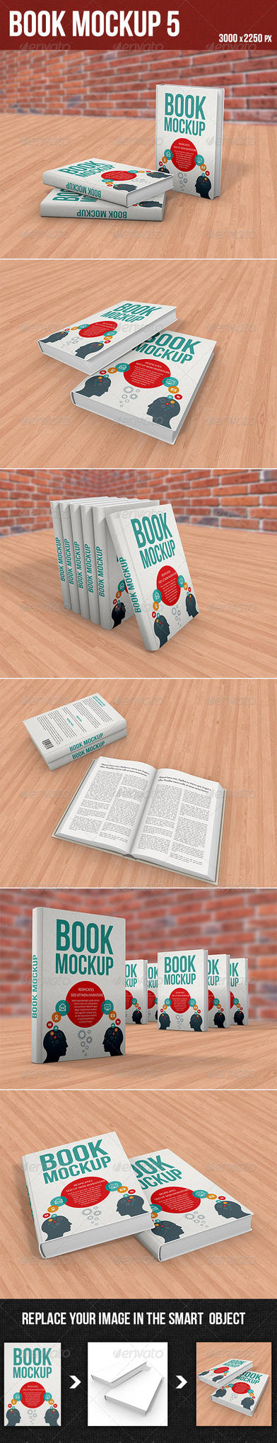 Book Mockup5 by graphickey