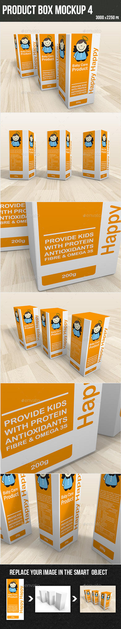Product Box Mockup4 by graphickey