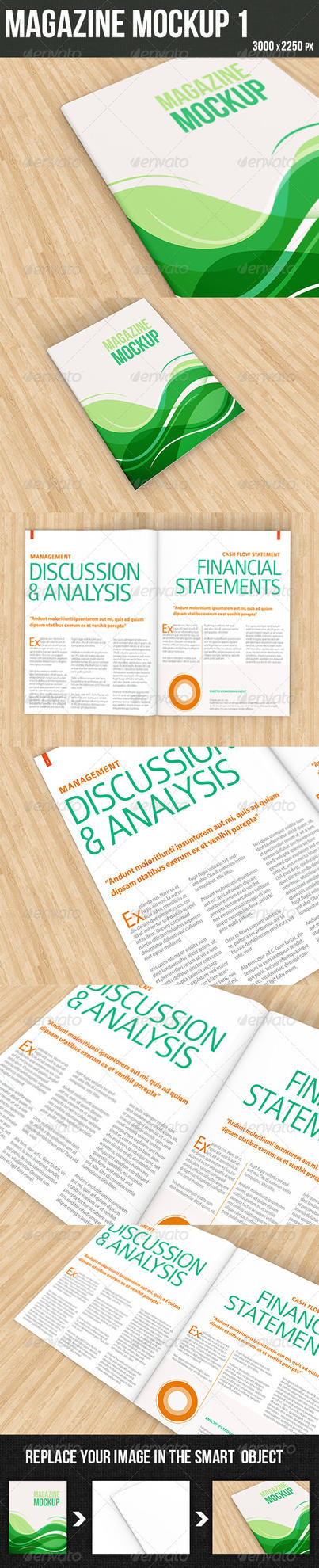 Magazine Mockup11 by graphickey