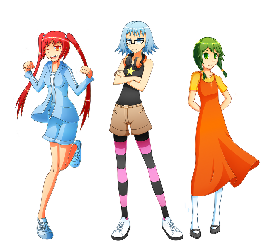 The Arcade Girls by WiseKarasu