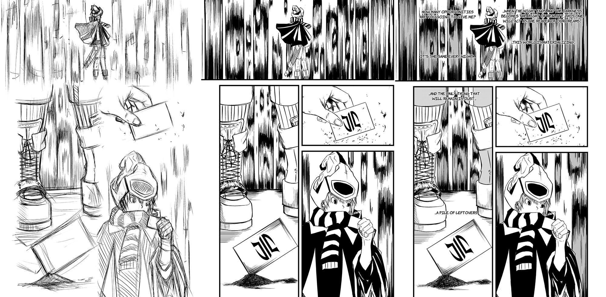 Manga Page Process by RizianLarc