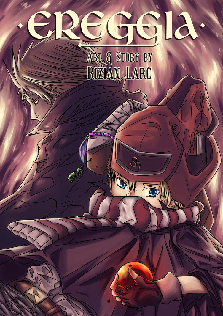 New Manga Cover for Ereggia by RizianLarc