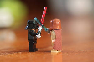 Lego Battle by SchatzFoto