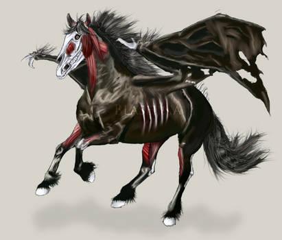 Undead Horse by Blashina