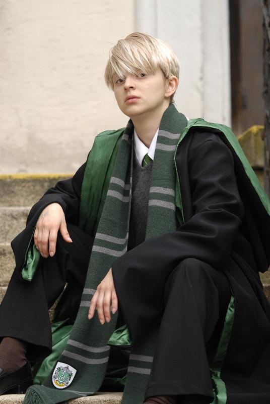 Draco Malfoy Hogwarts Cosplay by Blashina