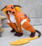 Raichu Pokemon Cosplay