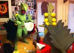 Sceptile Cosplay Costume
