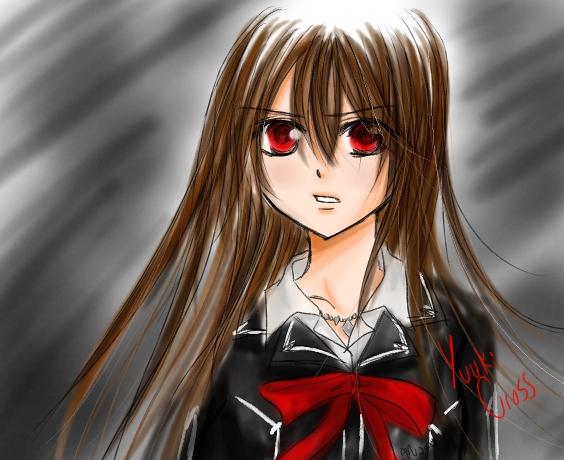 Yuuki Cross sketch by Kyarah