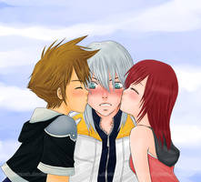 Let's kiss Riku by Kyarah