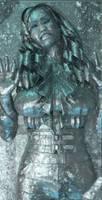 Nicki Minaj frozen in carbonite