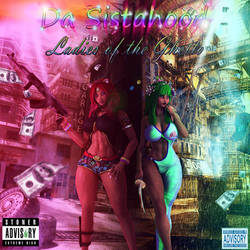 Blasian Hip-hop Models - Funny Mixtape Cover by ambient-avalancher