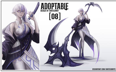 (Open) Adoptable Aution:Number8 by IHATECANDYS