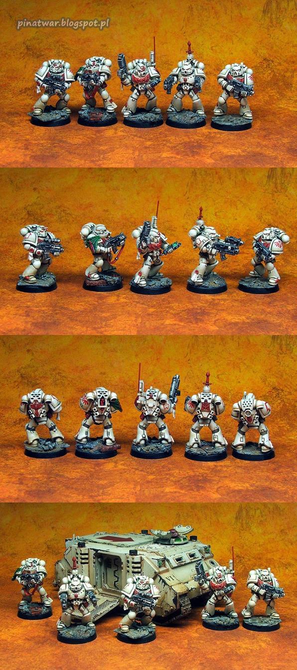 Space Marines Combat Squad 1 by KorNat