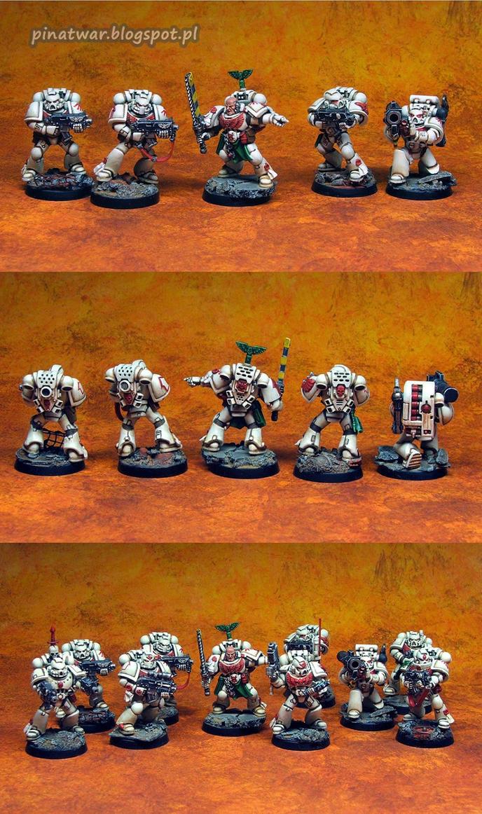 Space Marines Combat Squad 2 by KorNat