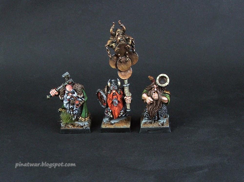 Dwarf Ironshields Command Group by KorNat