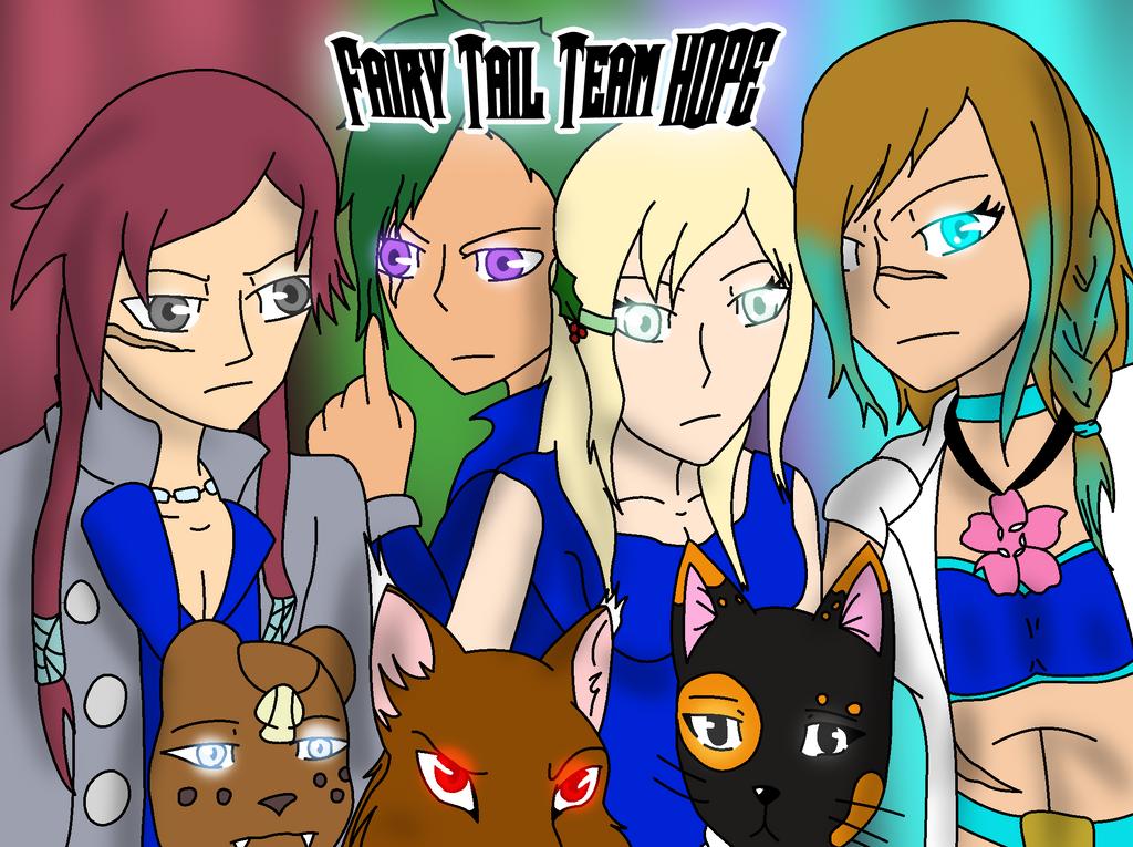 Fairy Tail's Team Hope by Phenom-Jak