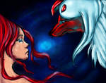 Absol and the girl