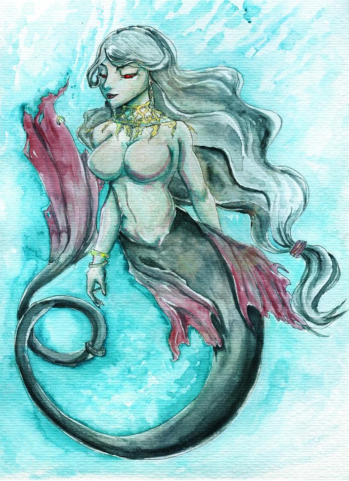 Mermaid by Feanaro07