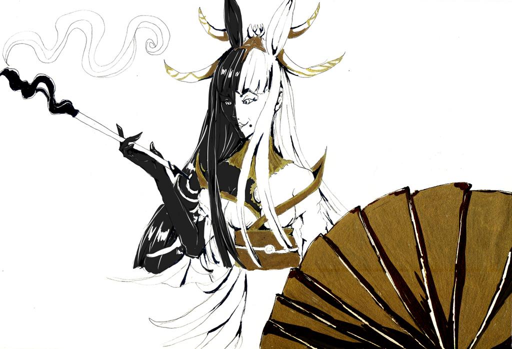 Tsukuyomi by Feanaro07