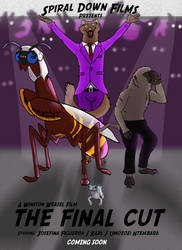 SDF Round 4 - The Final Cut - Cover by Evelyn-Cross