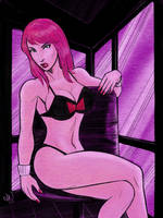 Marvel Bikini Throwdown by mitchatt