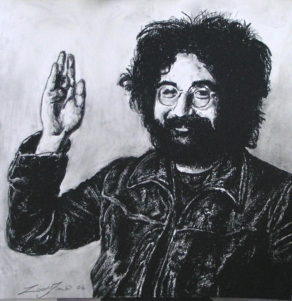 Jerry Garcia Man By Dunezx