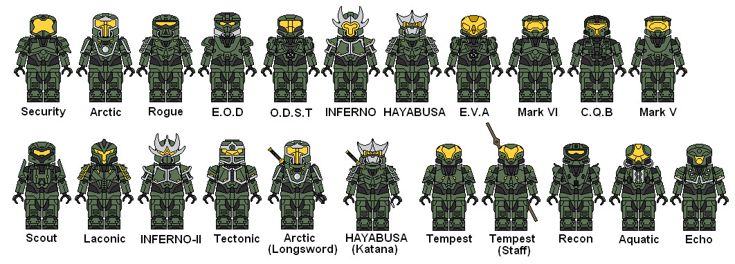 Halo Lego Armor by haloguy7896 on DeviantArt