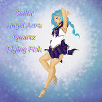 Sailor Angel Aura Quartz Flying Fish by goddess-of-the-moon1