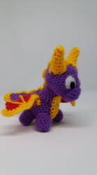 Spyro crochet by Ludaritz