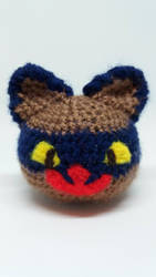 Slime Rancher Hunter slime crochet by Ludaritz