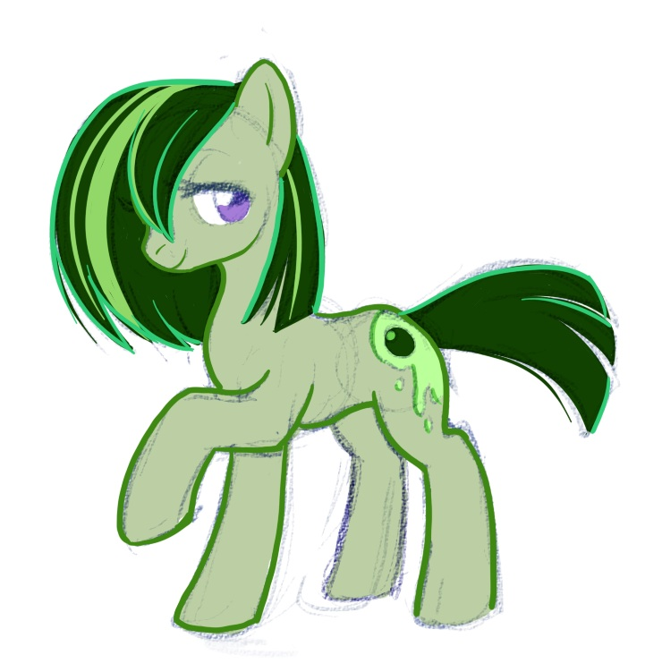 Pony OC - Olive Juice by Tigsie