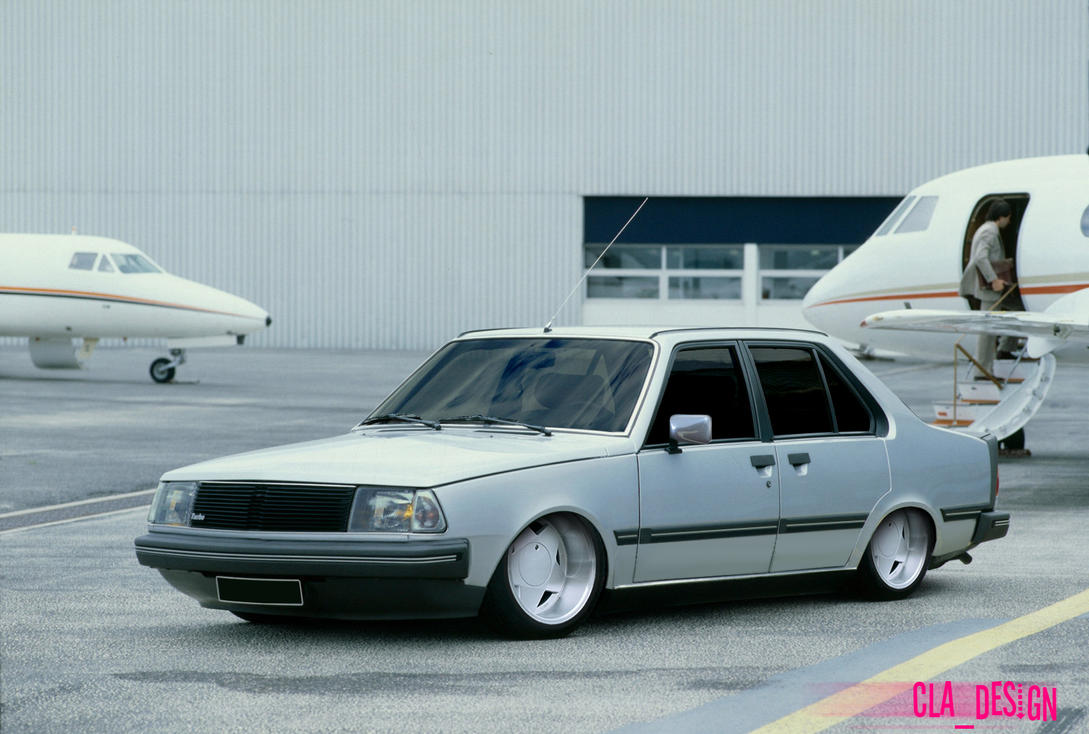 renault 18 turbo vip by clags on deviantart. Black Bedroom Furniture Sets. Home Design Ideas