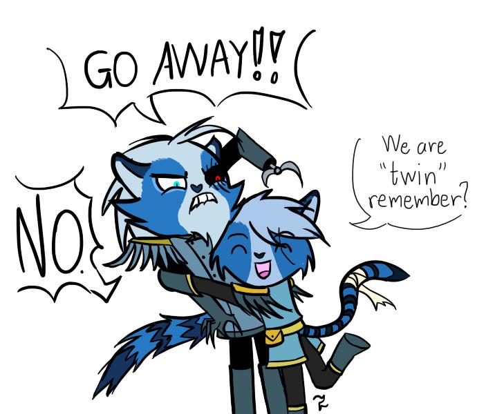 Go Away!!! by paksa