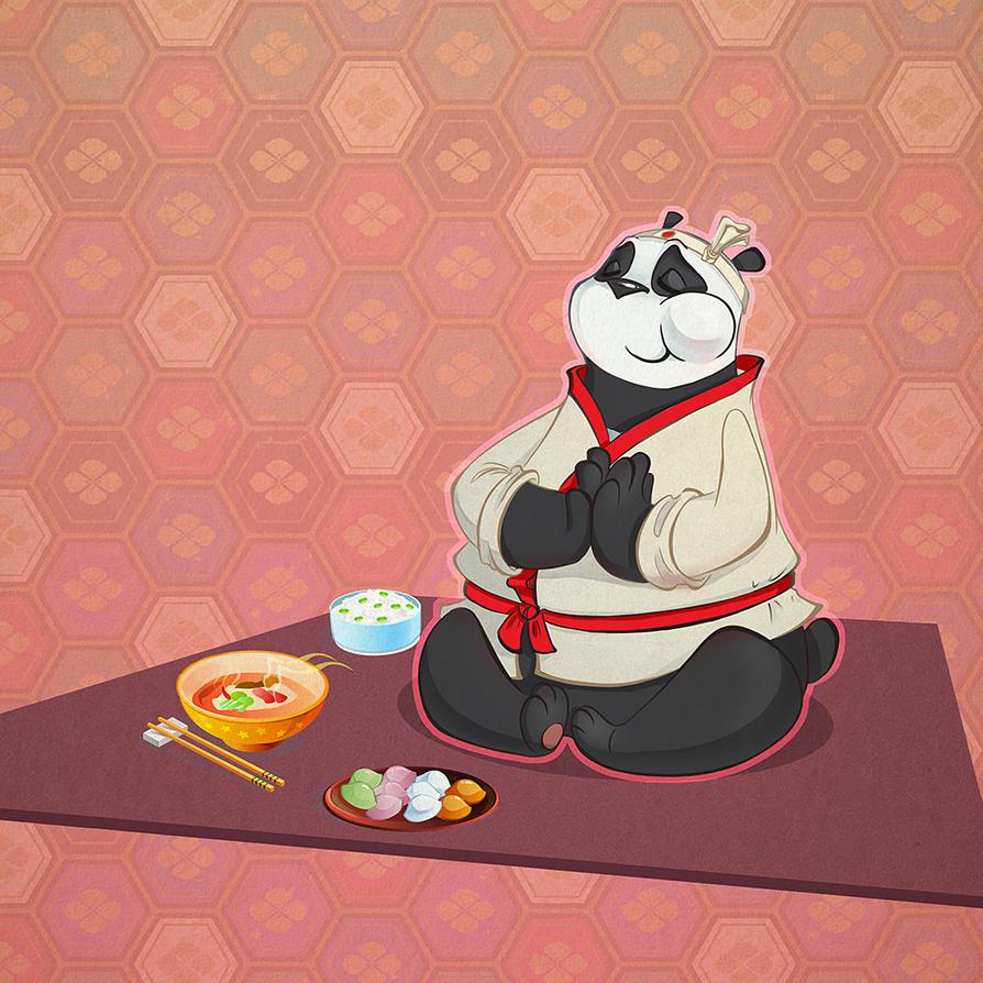 Eating by Uzuhiro