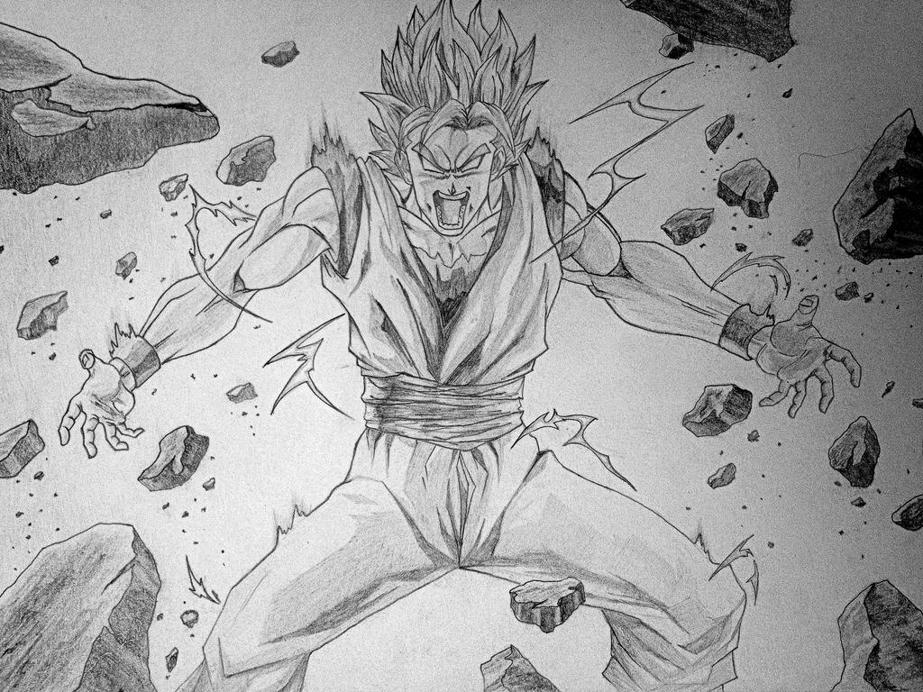 Goku [W.I.P.] by animeR96