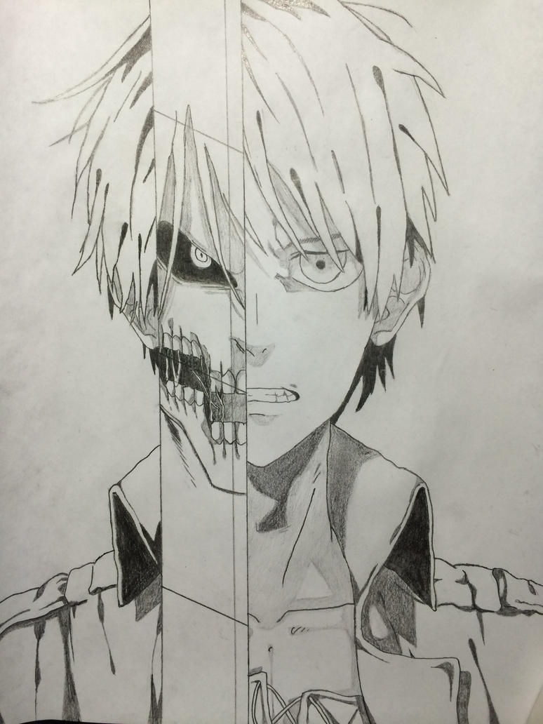 Eren jaeger drawing - photo#15