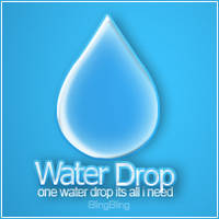 WaterDrop logo by Art-Yom