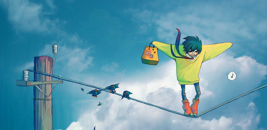satoshi in the sky by under-fed