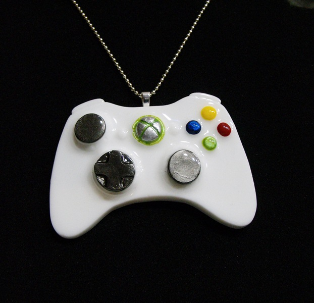 Xbox remote controller pendant by 2littlekisses on deviantart xbox remote controller pendant by 2littlekisses aloadofball Choice Image