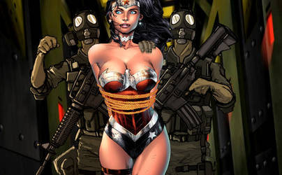 Wonder Woman, Prison by dgrart2013