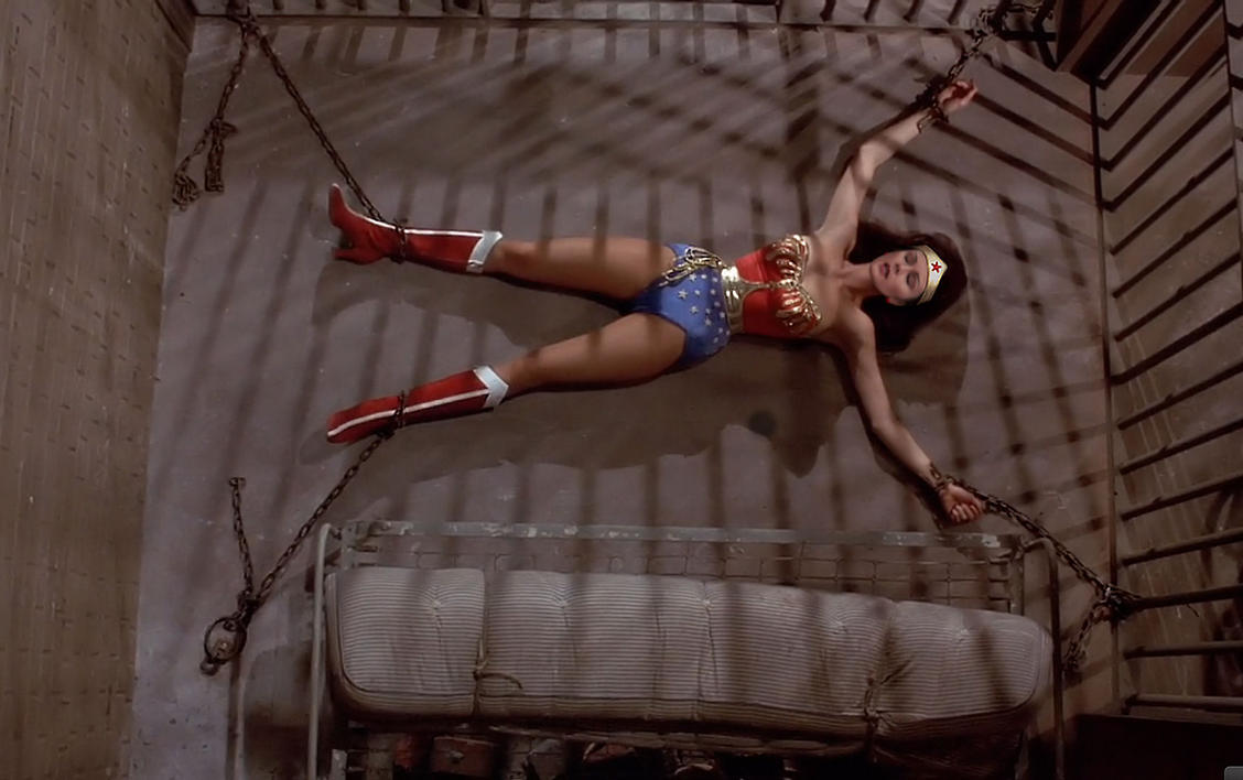Wonder woman tied up amp fucked featuring jennyblighe 10