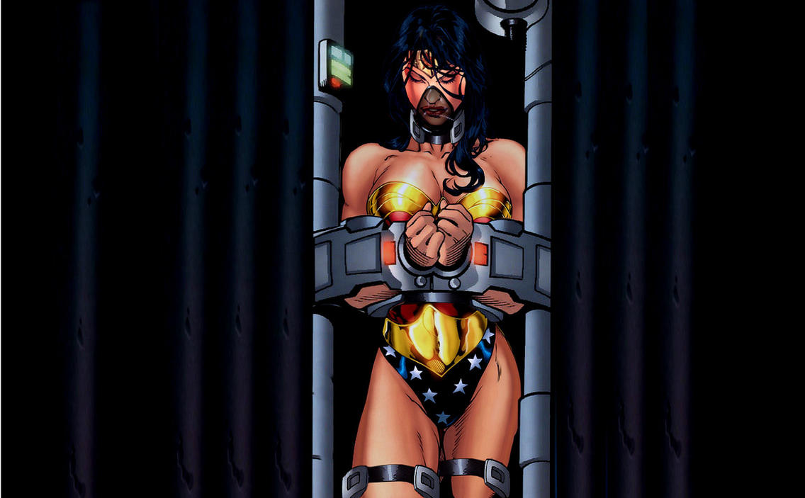 Eventually Wonder woman captive and in bondage images hope luck