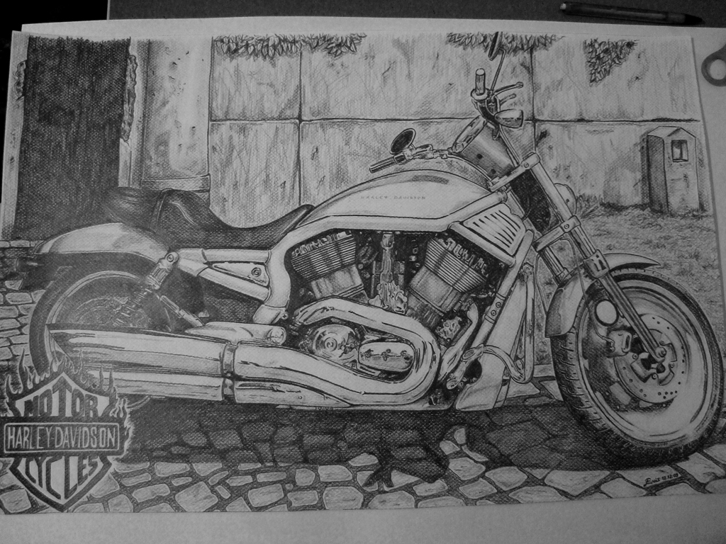 Harley Davidson by orangenes