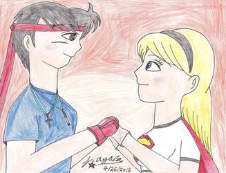 Anime Jason X Supergirl - I See the Light! by AnimeJason2010