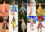 DOA Girls Sarong Collection