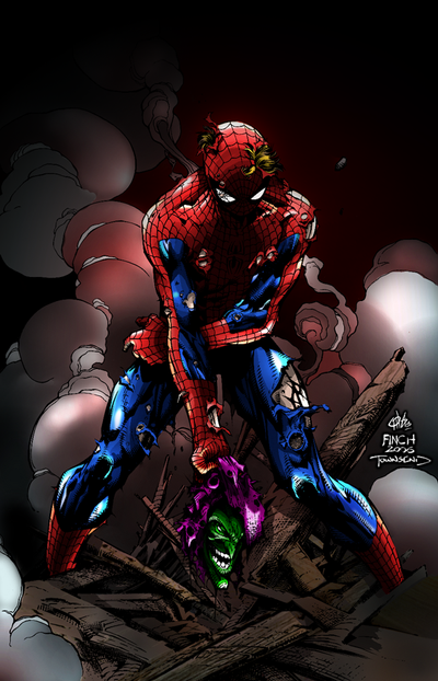 Spidey Wins by richyunspoken