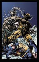 Dark Wolverine 86 cover by richyunspoken